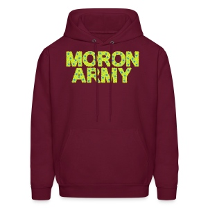 MORON ARMY - Smiles and paws (Men's hoodie) - Men's Hoodie
