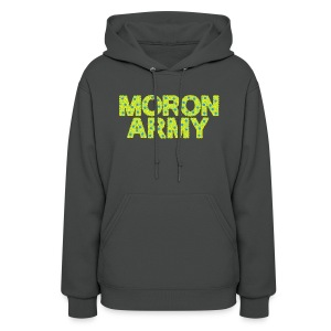 MORON ARMY - Smiles and paws (Women's Hooded Sweatshirt) - Women's Hoodie