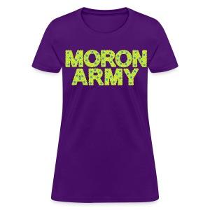 MORON ARMY - Smiles and paws - Women's T-Shirt