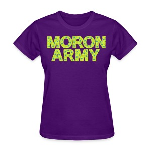 MORON ARMY - Smiles and paws - Women's T-Shirt