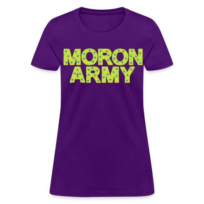 MORON ARMY - Smiles and paws