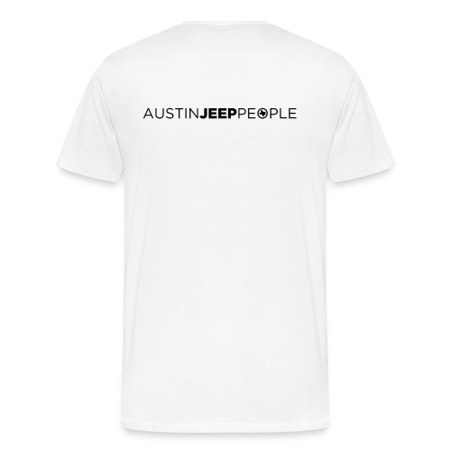 AJP Men's T-Shirt Black Logo - Men's Premium T-Shirt