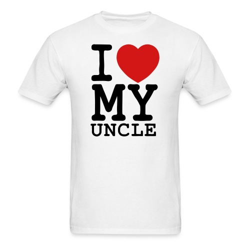 I Heart My Uncle - Men's T-Shirt