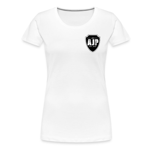AJP Women's T-Shirt Black Logo - Women's Premium T-Shirt
