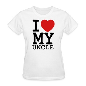 I Heart My Uncle - Women's T-Shirt