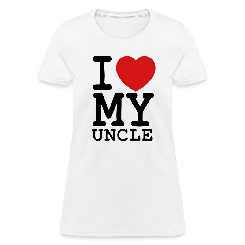 I Heart My Uncle - Women's T-Shirt