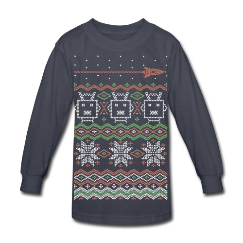 RF Holiday Tee - Kid's Long Sleeve - Kids' Long Sleeve T-Shirt