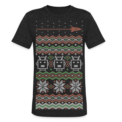 RF Holiday Tee - Unisex Tri-Blend T-Shirt by American Apparel - Unisex Tri-Blend T-Shirt