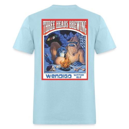 Wendigo Winter Ale - Black Logo - Men's T-Shirt