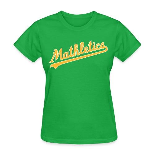 Women's Mathletics S/S Standard T - Women's T-Shirt