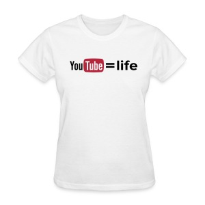 YouTube - option 1 - Women's T-Shirt
