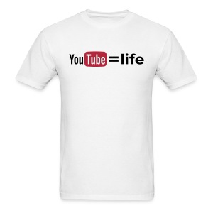 YouTube - option 1 - Men's T-Shirt