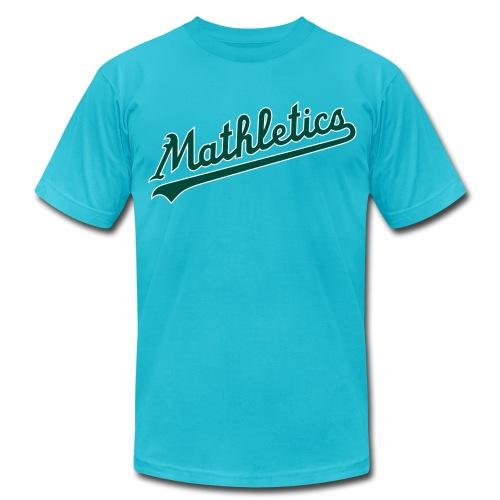 Men's Mathletics S/S AA T-Shirt - Men's Fine Jersey T-Shirt