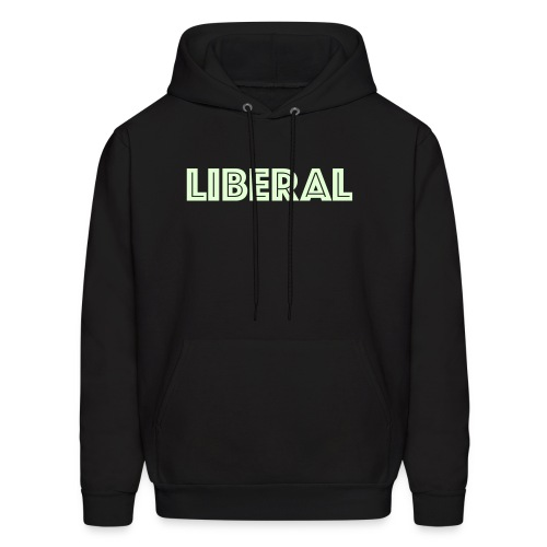 Glow in the Dark Liberal Hoodie - Men's Hoodie