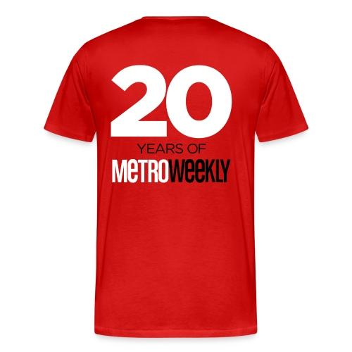 Limited Edition, Celebrating 20 Years - Men's - Men's Premium T-Shirt