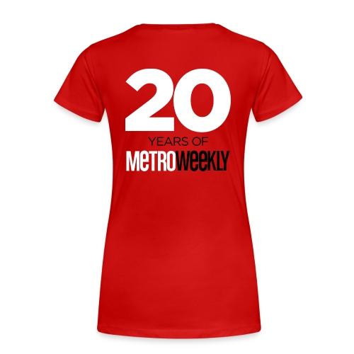 Limited Edition, Celebrating 20 Years - Women's - Women's Premium T-Shirt