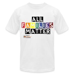 All Families Matter - Men's - Men's T-Shirt by American Apparel