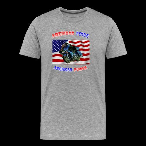 Men's Premium T Front AmPride AmPower - Men's Premium T-Shirt