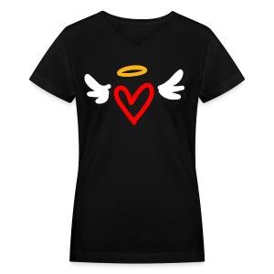 TOXICO's PASSION Women V Neck - Women's V-Neck T-Shirt