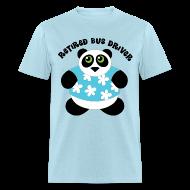 T-Shirts ~ Men's T-Shirt ~ Bus Driver Retired Retirement Tshirt