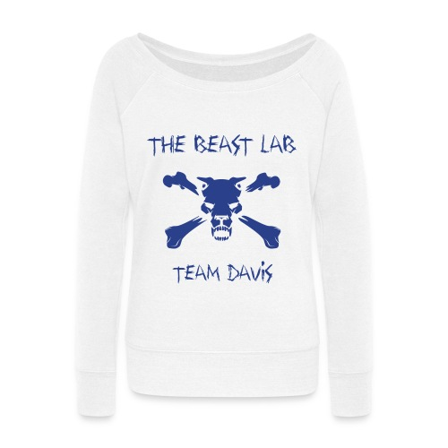 Team Davis, Wideneck Sweatshirt - Women's Wideneck Sweatshirt