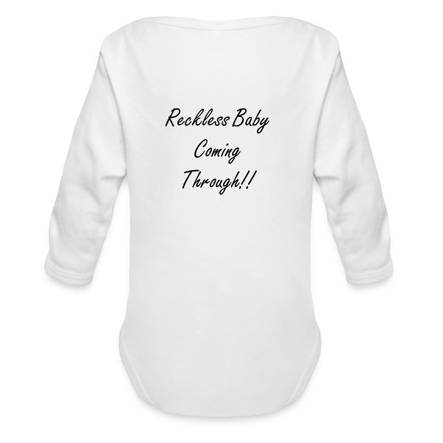 Reckless Baby - Organic Long Sleeve Baby Bodysuit