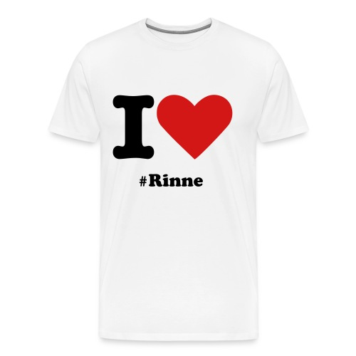 T-shirt I Love #Rinne - Men's Premium T-Shirt