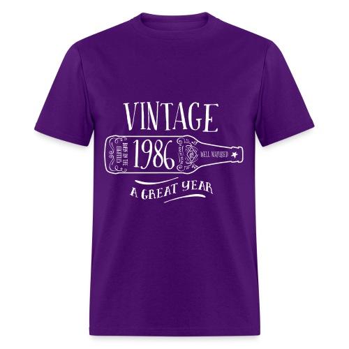 Vintage 1986 T-Shirts - Men's T-Shirt