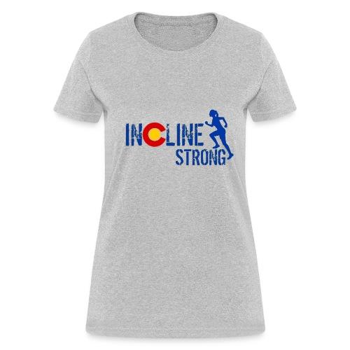 Women's T-Shirt - women t-shirts,outdoors,mountains,incline,hiking,colorado
