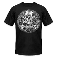 T-Shirts ~ Men's T-Shirt by American Apparel ~ NEW 45SURF Hero's Odyssey T-shirt!  Exalting the Heroic Science of Newton, Faraday, and Maxwell!