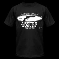 T-Shirts ~ Men's T-Shirt by American Apparel ~  RUGGED Men's 45SURF Hero's Odyssey Mythology American Apparel T-shirt!