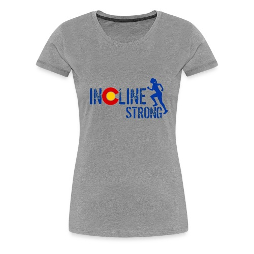 Women's Premium T-Shirt - women t-shirts,outdoors,mountains,incline,hiking,colorado