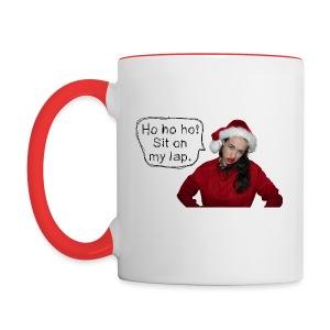 Ho ho ho! Miranda Sings - Contrast Coffee Mug