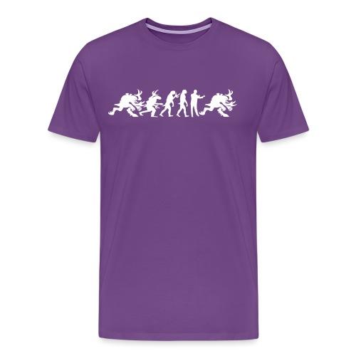 Alien Cult Evolution - Men's Premium T-Shirt