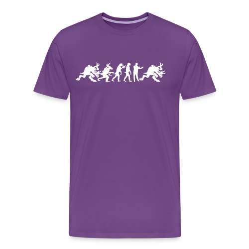 Alien Cult Evolution - Men's Premium T-Shirt