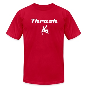 Thrash (with image) - Men's T-Shirt by American Apparel