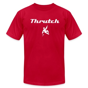 Thrutch (with image) - Men's Fine Jersey T-Shirt