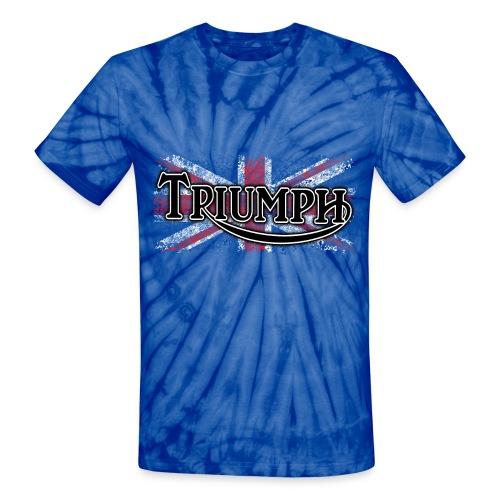 Triumph Tee Shirt - Unisex Tie Dye T-Shirt