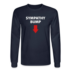 Sympathy Bump Daddy - Men's Long Sleeve T-Shirt