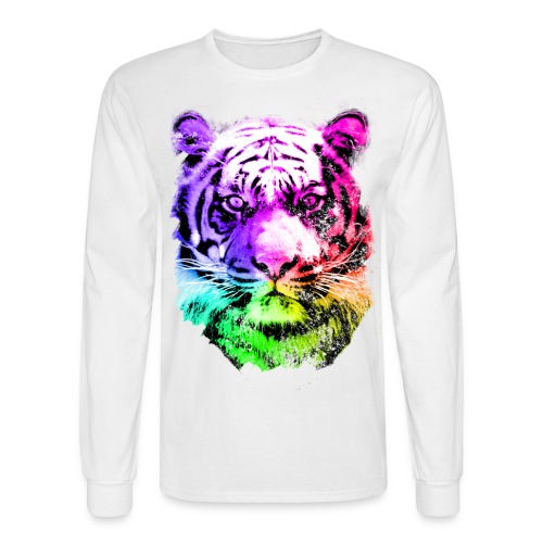 Feel for the wild (Front & Back) - Men's Long Sleeve T-Shirt