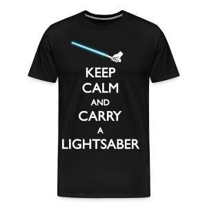 LIGHTSABER - Men's Premium T-Shirt