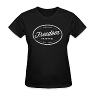 T-Shirts ~ Women's T-Shirt ~ Women's Freedom Vintage