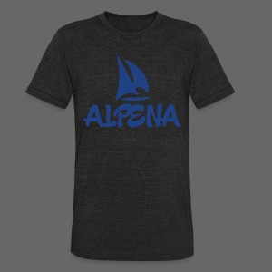 Alpena - Unisex Tri-Blend T-Shirt by American Apparel