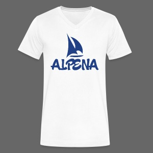 Alpena - Men's V-Neck T-Shirt by Canvas
