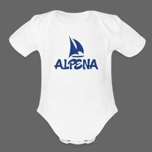 Alpena - Short Sleeve Baby Bodysuit