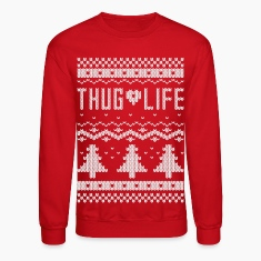 "Ugly ""Thug Life"" Christmas Sweater"
