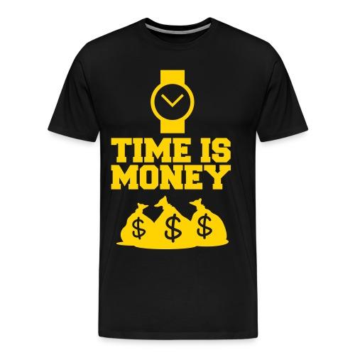 Time is Money - Men's Premium T-Shirt