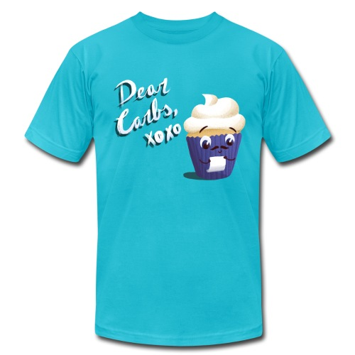 Dear Carbs - Men's - Men's Fine Jersey T-Shirt