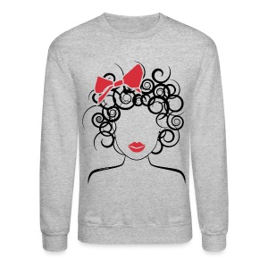 Curly girl - Crewneck Sweatshirt