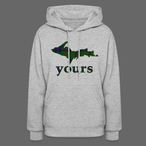 Up Yours Plaid - Women's Hoodie